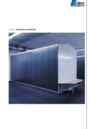 LO Armoires vestiaires Swiss - Lista Office