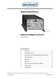 Bedienungsanleitung Batterie-Ladegerät LAS 1218