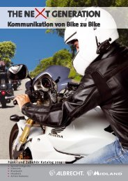 Motorrad Katalog 2013 6MB - ALAN ELECTRONICS GmbH