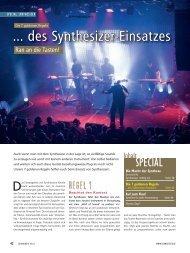 Die 7 goldenen Regeln des Synthesizer-Einsatzes - MUSIC STORE ...