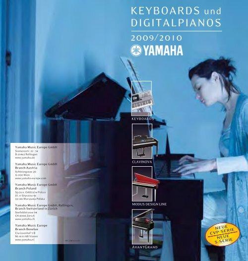 Prospekt - Pianohaus Hamann