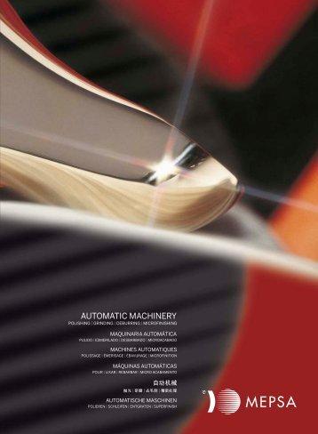 nuevo catálogo 2012 - MEPSA