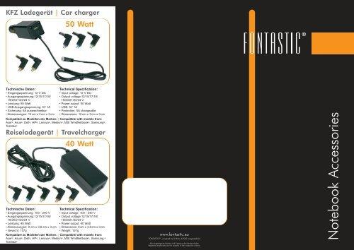 Notebook Accessories - D-Parts Mobilphon & Zubehör Gmbh