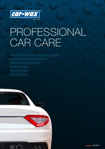 PROFESSIONAL CAR CARE - AT-Automaterial GmbH., Abt. Chemie