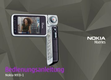 Ihr Nokia N93i - Download Instructions Manuals