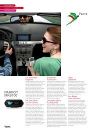 PARROT MK6100 - Parrot Partner Center
