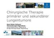 Hofmann - Chirurgische Therapie primärer und sekundärer ...