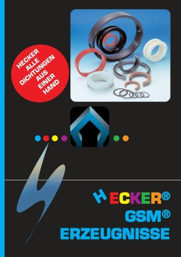 GSM ® -Katalog - HECKER WERKE GmbH