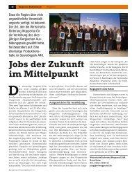 Jobs der Zukunft im Mittelpunkt - kompetenzhoch3