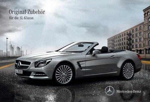 Original-Zubehör für die SL-Klasse - Mercedes-Benz PRAHA