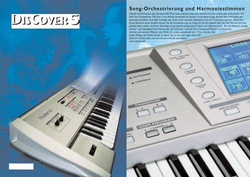 DisCover5 Cata.D - Roland Keyboard Club