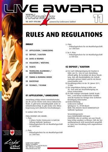 rla-rules-regulations-2011-de - rocknet.bz