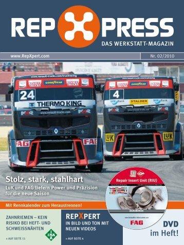 RepXpress - Das Werkstatt-Magazin: Nr. 02/2010 - Schaeffler Group