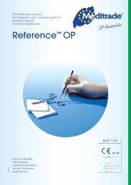 Reference™ OP - Medi-King Medical Trading GmbH