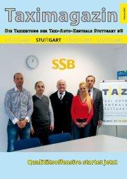Qualitätsoffensive startet jetzt - Taxi-Auto-Zentrale Stuttgart