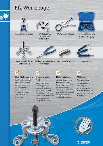 14 Kfz-Werkzeuge - Unior