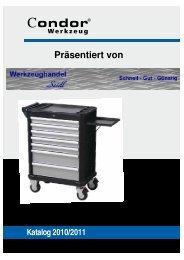 Katalog 2010/2011 Präsentiert von - Werkzeughandel-Seidl