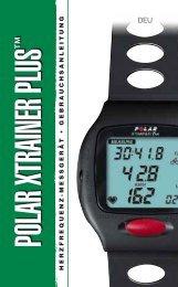 Polar XTrainer Plus - Für Sport, Fitness und Wellness