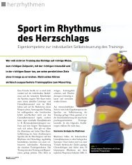 Sport im Rhythmus des Herzschlags - Prof. Dr. Kuno Hottenrott
