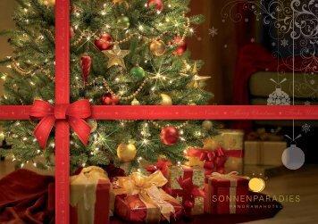 Weihnachtskarte Hotel Sonnenparadies - Schenna bei Meran