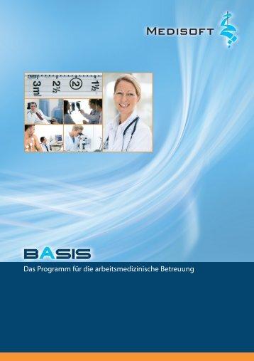 Das Programm für die arbeitsmedizinische ... - Medisoft GmbH