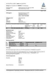 GUTACHTEN zur ABE Nr. 44430 nach §22 StVZO Anlage 2 zum ...