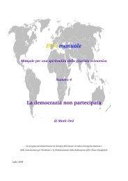 Scarica Capitolo 4 - democrazia - Equomanuale