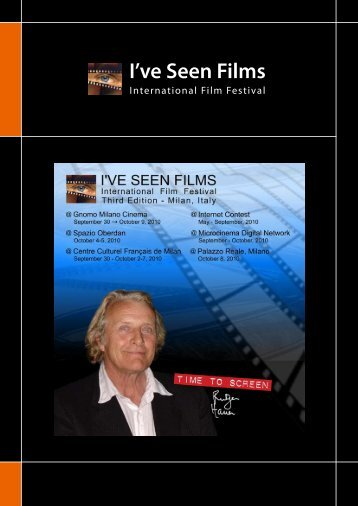 Screening Program - I'VE SEEN FILMS - International Film Festival