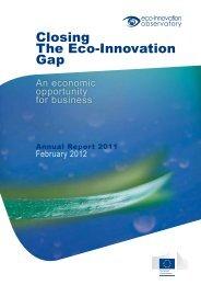 Closing The Eco-Innovation Gap