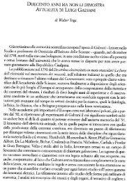 DUECENTO ANNI MA NoN LI DIMosTRA ... - INFN Bologna