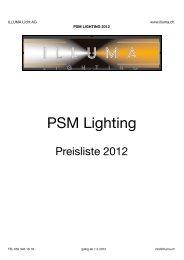 PSM Lighting - Illuma