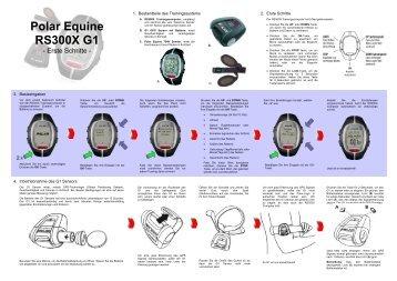 RS800 G3 Equine - Polar