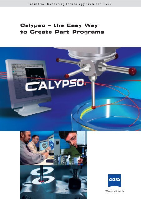 Calypso – the Easy Way to Create Part Programs - Zeiss