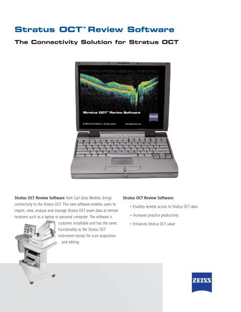 Stratus OCT Review Software - Carl Zeiss Meditec AG