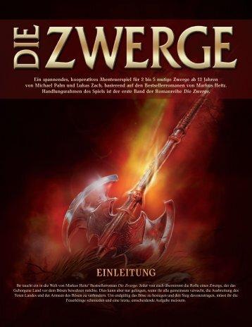 Die Zwerge - Anleitung - Pegasus Spiele