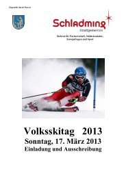 Volksskitag 2013 - Schladming