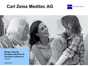 European MedTech & Services Conference - Carl Zeiss Meditec AG