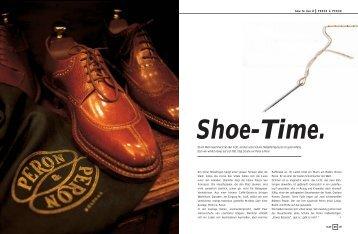 Shoe-Time. - sabine holzknecht