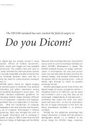 Do you DICOM? - Carl Zeiss Meditec