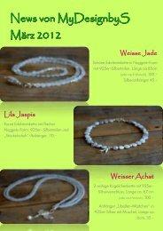 News von MyDesignbyS März 2012 - The Date