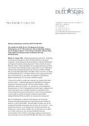 Barbara Schöneberger moderiert DUFTSTARS 2011 Die ... - VKE