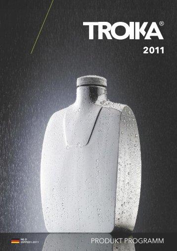 PRODUKT PROGRAMM - Troika Germany GmbH