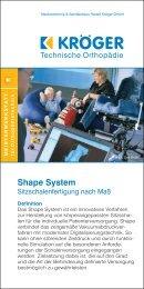 Flyer Shape System downloaden, PDF - [354 kB] - Medizintechnik ...
