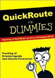 QuickRoute for Dummies Juli 2012