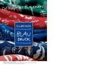 Katalog Nr. 5 - Einbecker Blaudruck