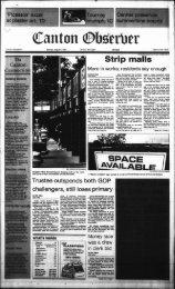 Strip malls - Canton Public Library