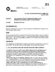 April 18, 2012 - Item 31 - Ad-Hoc Congestion Pricing ... - Metro