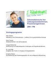 Dokumentation ZMV/PM - eazf