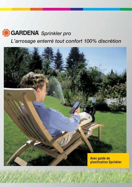 Sprinkler Pro Larrosage Enterré Tout Confort 100