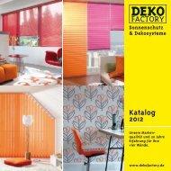 Katalog 2012 - Dekofactory